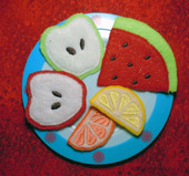 Felt Food fruit Set