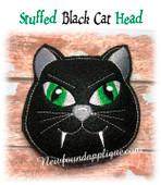 In the Hoop Stuffed Cat Head Embroidery Machine Design