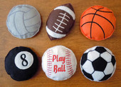 Bean Bag Sports Ball set