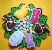 Fun felt Easter Cookie Set