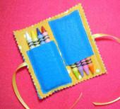 Folded Crayon Holder