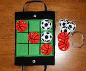Sports Ball TIC TAC Tote