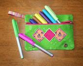 Diamond Pencil Case