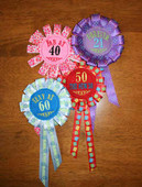 Birthday Badge Set 2