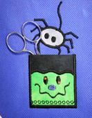 Monster Pocket with Spider