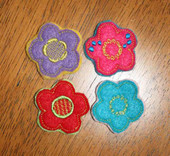 Felt Bits and Pieces Flowers Set
