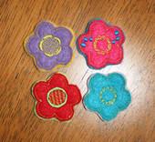Felt Bits and Pieces Flowers Set