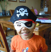 Pirate Mask Set