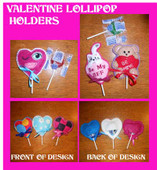 Valentine Lollipop Holders