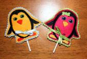 Penguin Lollipop Holders