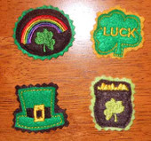 St Pats Day Felt Bits and Pieces