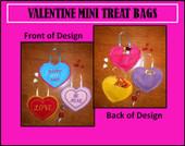 Valentine Mini Treat Bags