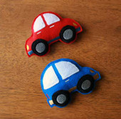 Bean Bag Car Set