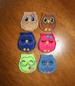 Owl Felt Bits and Pieces