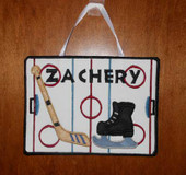 Hockey Door Sign