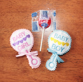 Baby Rattle Lollipop Holder ITH Design