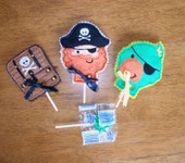 Pirate Lollipop Set