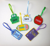 Back Pack Name Tag Set 2 ITH SET