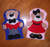 Bear Puppet ITh Set