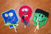 Monster Lollipop Holder ITh Set