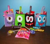 Monster Treat Bag ITH SET