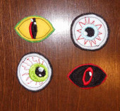 Felt Bits and Pieces Monster Eyes