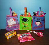 Halloween Treat Bag for Teacher ITH Set
