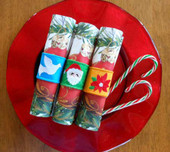 Christmas Napkin Set 2 In the Hoop Design