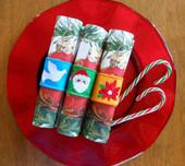 Christmas Napkin Set 2 In the Hoop Design