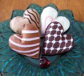 Felt Heart Cookies In the Hoop Design Set
