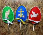 Religious Lollipop Holder Design Set