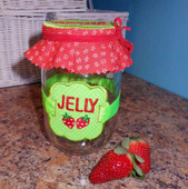 Lid and Label Design Set Strawberry