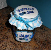 Lid and Label Design Set Blueberry