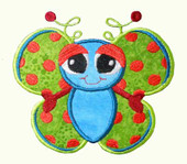Spring Buggin Butterfly Applique