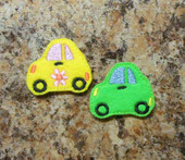 Bug Car Felt Bits and Pieces Set
