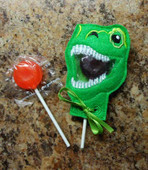 Dino Rex Lollipop Holder Design
