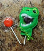 Dino Rex Lollipop Holder Design