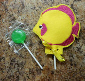 Fish Lollipop Holder Design