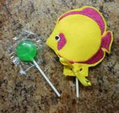 Fish Lollipop Holder Design