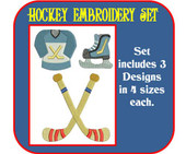Hockey Embroidery Set