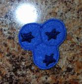 Blueberry Feltie Design