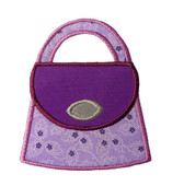 Purse Applique Embroidery Machine Design