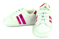 Pink Stripe Shoes