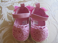 Girly Canvas Pink Summer  Shoes