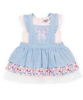 Jean 2 pc Skirt Set