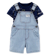 Whale T-shirt & Shortalls Set