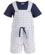First Impressions Shibori Shortalls Set