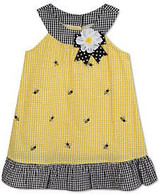Bumblebee Seersucker Dress