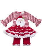 Santa Claus Top & Leggings Set