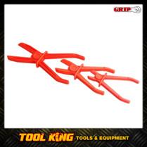 Flexible line clamp hose pinch off set 3pc set